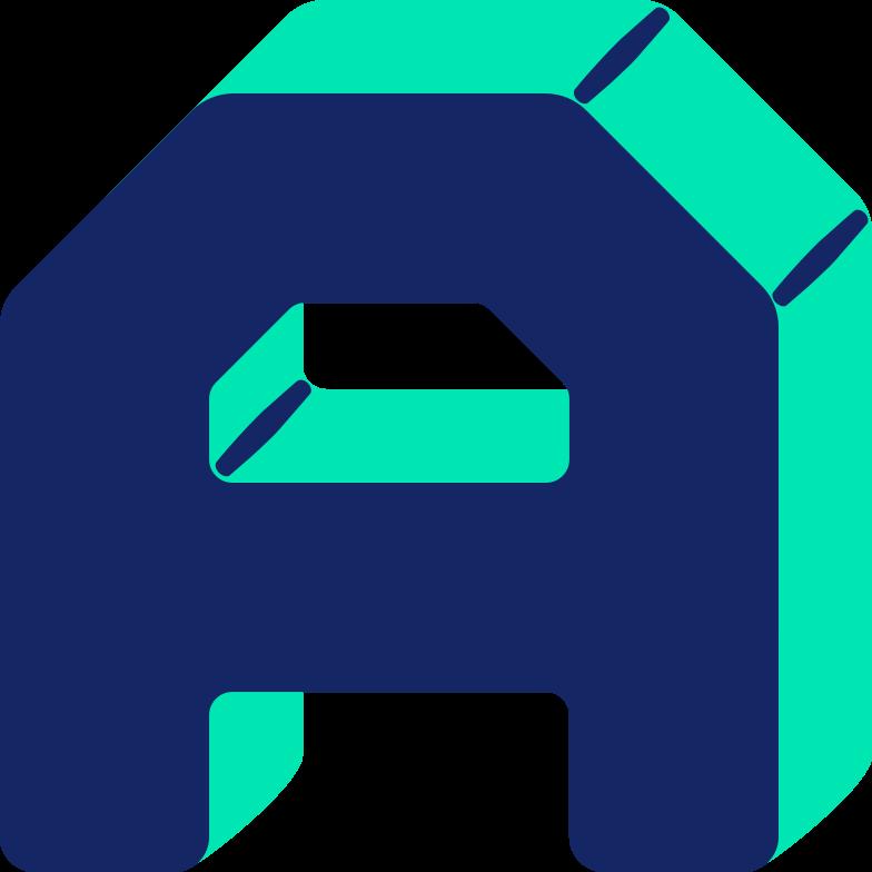 letter a Clipart illustration in PNG, SVG