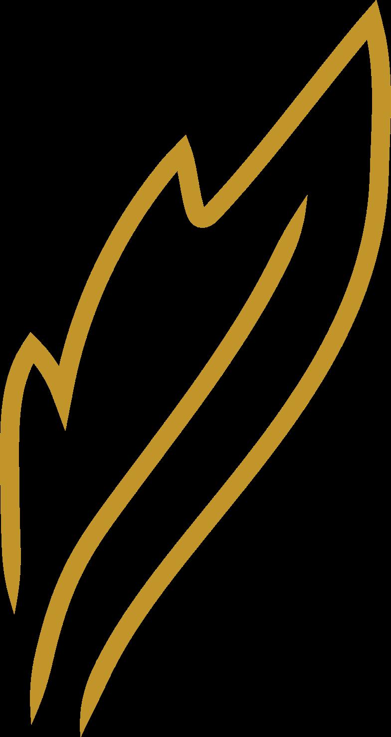 tk gold leaf Clipart illustration in PNG, SVG