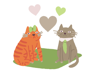 style Cats love images in PNG and SVG | Icons8 Illustrations