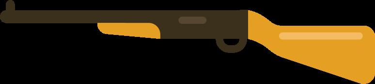 gun shotgun Clipart illustration in PNG, SVG