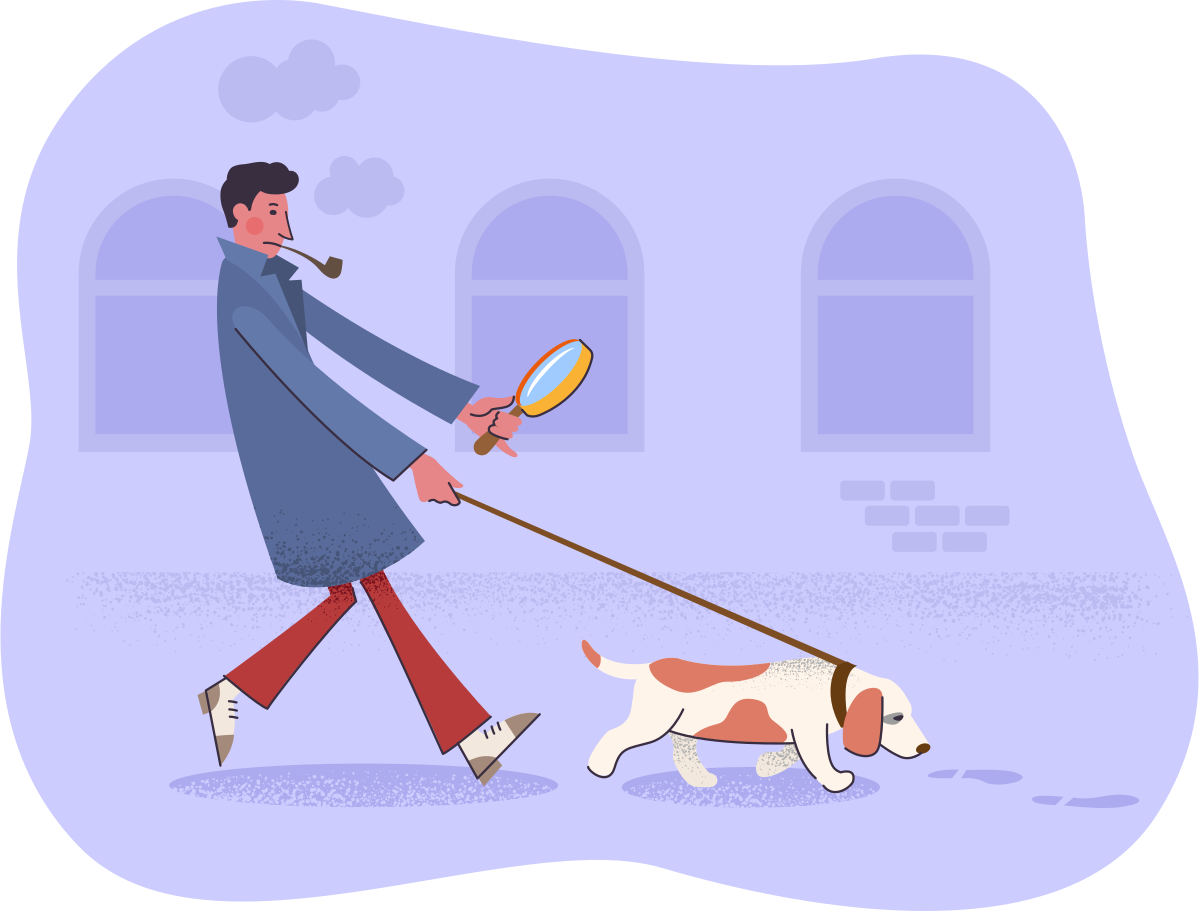 Searching Clipart illustration in PNG, SVG