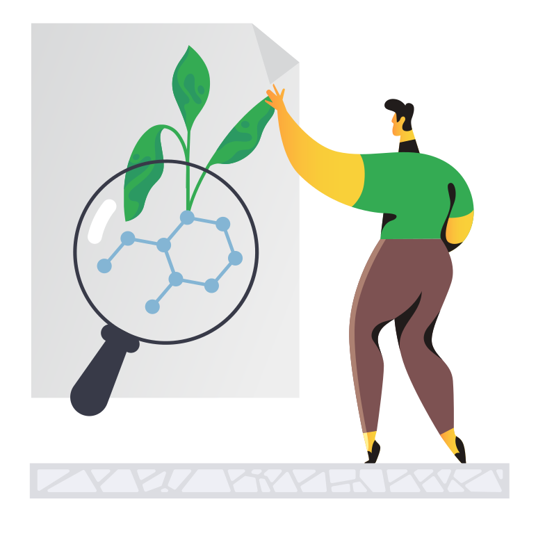 Biotechnology advertising Clipart illustration in PNG, SVG