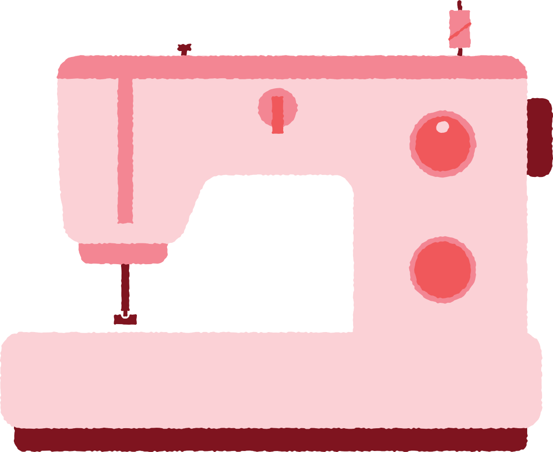 sewing machine Clipart illustration in PNG, SVG