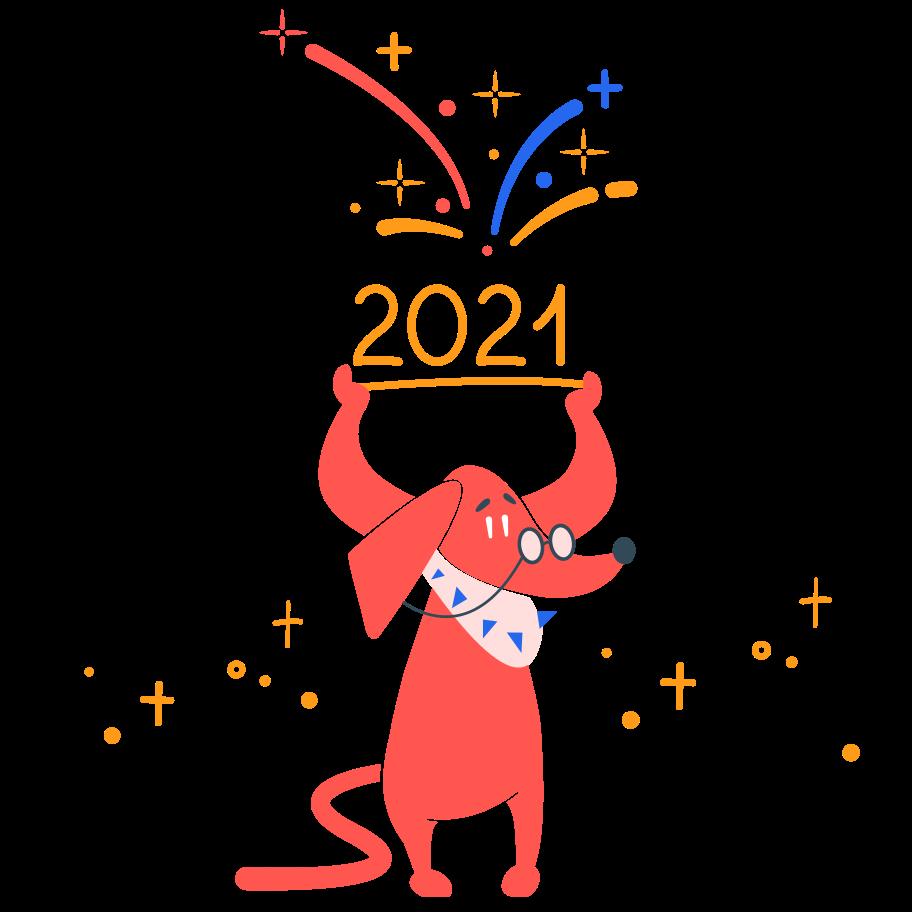 2021 Clipart illustration in PNG, SVG