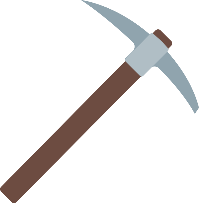 style pickaxe Vector images in PNG and SVG | Icons8 Illustrations