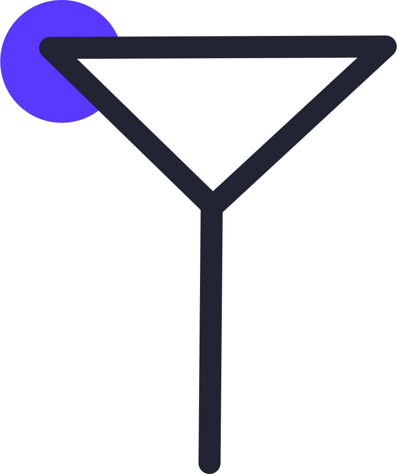 augmented reality  cocktail Clipart illustration in PNG, SVG