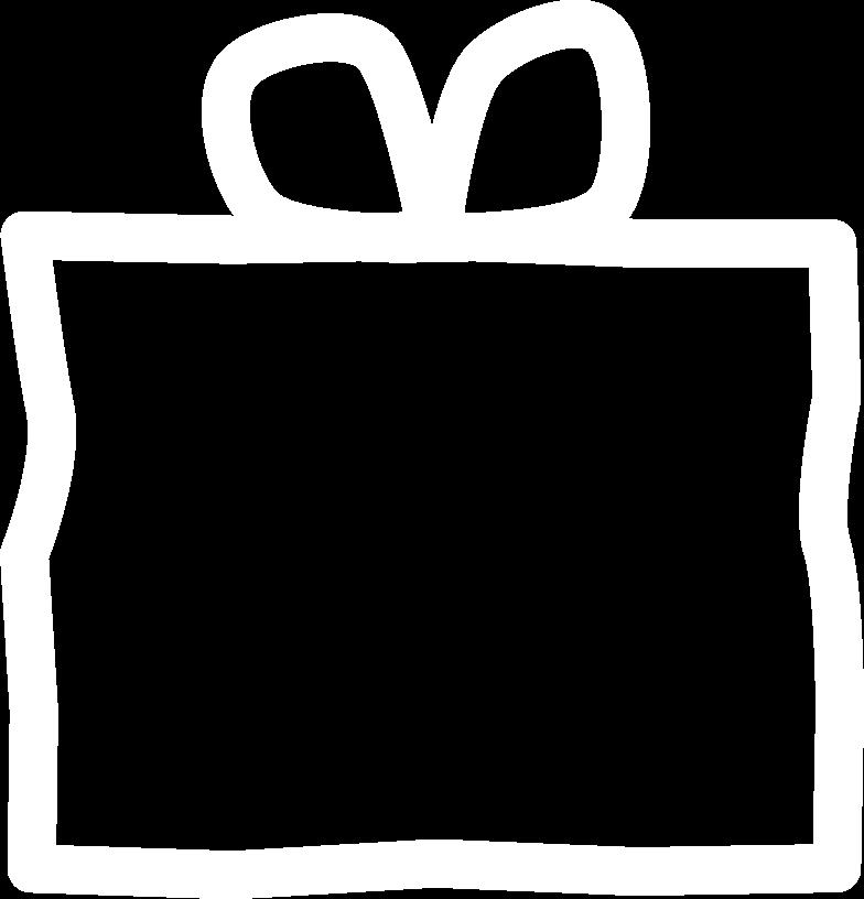 Geschenkbox Clipart-Grafik als PNG, SVG