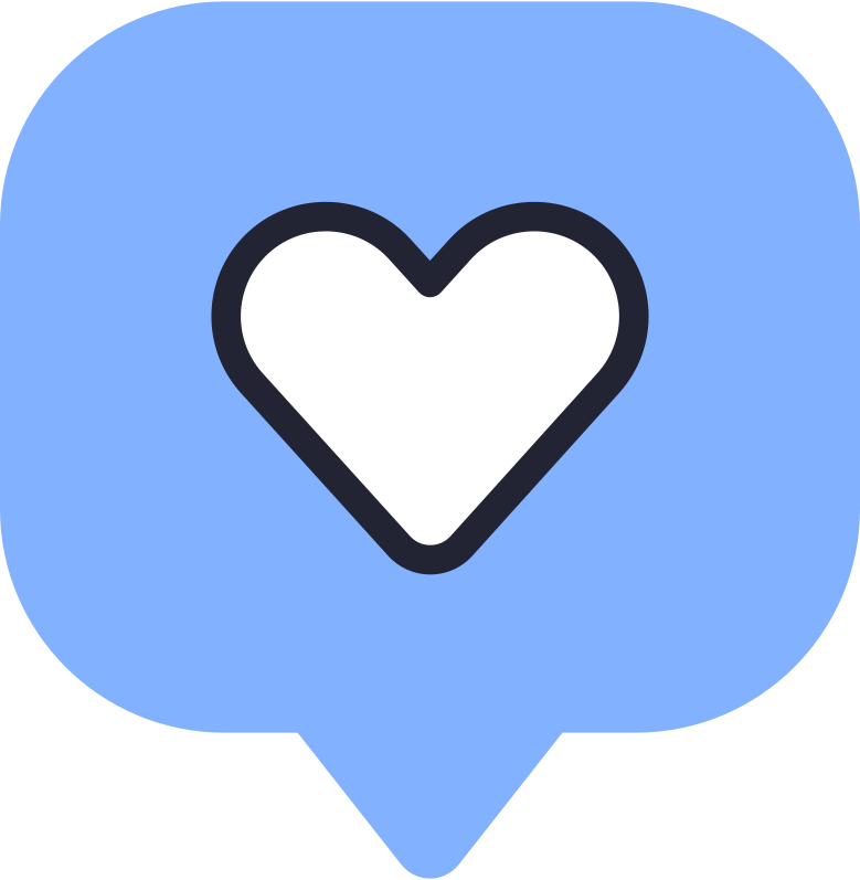 style speech bubble heart Vector images in PNG and SVG | Icons8 Illustrations