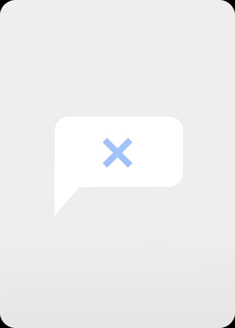not sent Clipart illustration in PNG, SVG