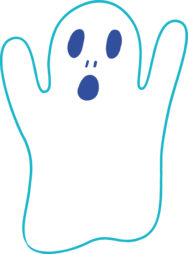 halloween ghost Clipart illustration in PNG, SVG