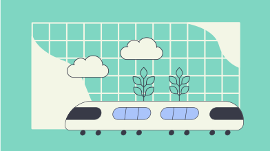 style Going by train images in PNG and SVG | Icons8 Illustrations