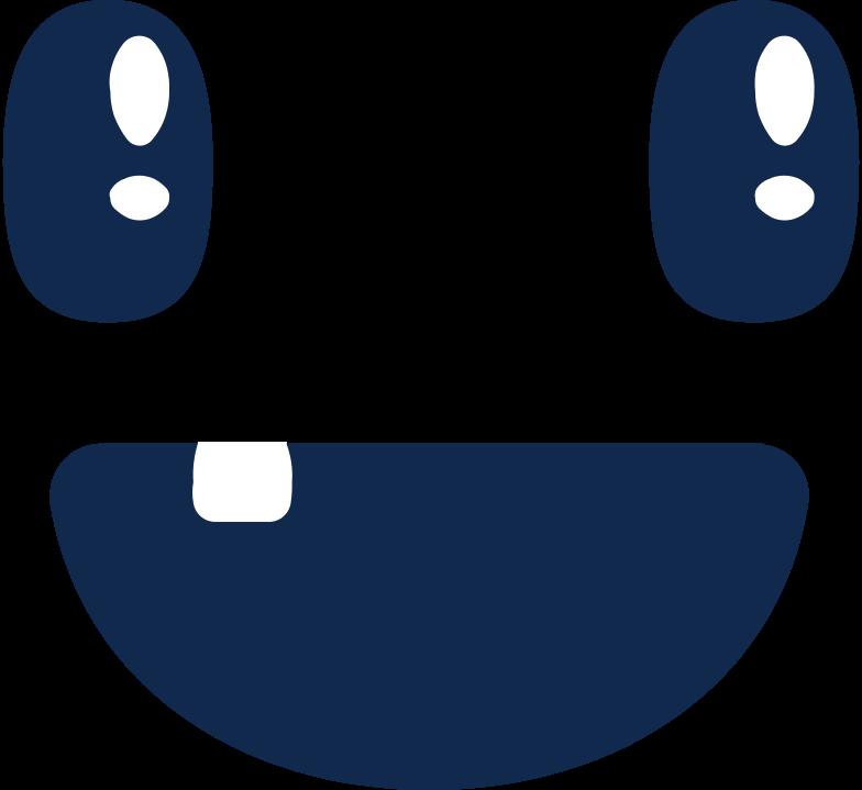 Иллюстрация лицо счастливое в стиле  в PNG и SVG | Icons8 Иллюстрации