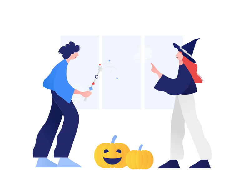 Halloween party Clipart illustration in PNG, SVG