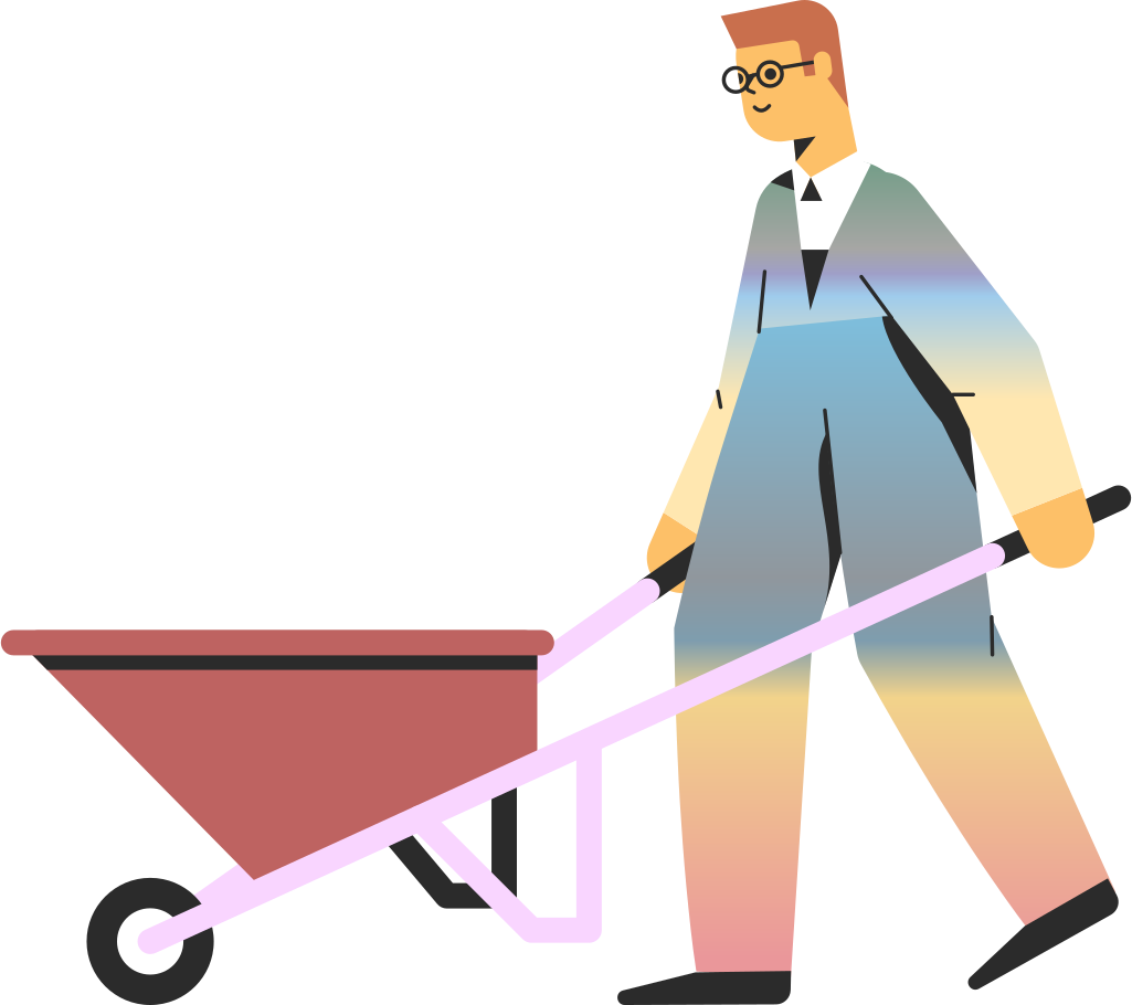 style man with truck Vector images in PNG and SVG   Icons8 Illustrations