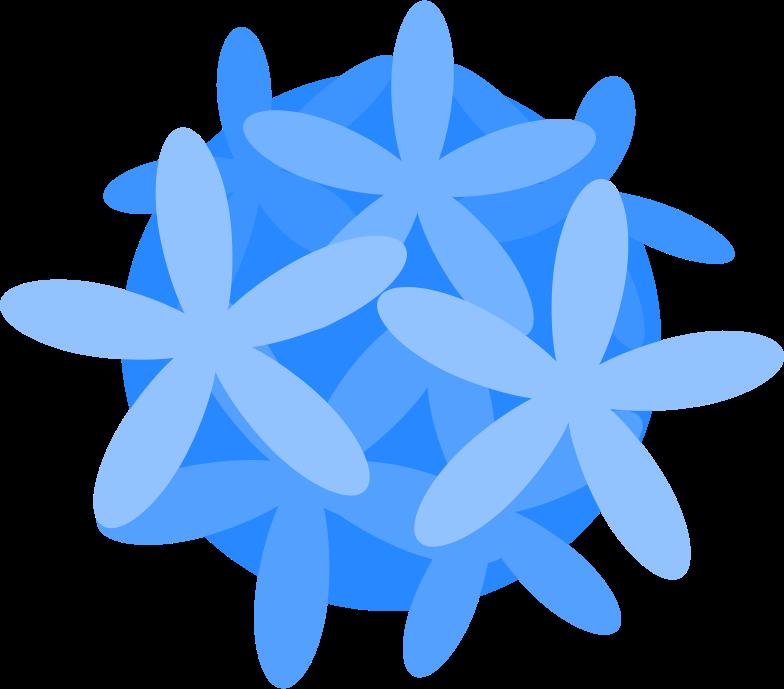 tropic flower Clipart illustration in PNG, SVG