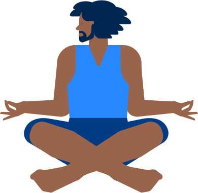 style yoga man images in PNG and SVG | Icons8 Illustrations