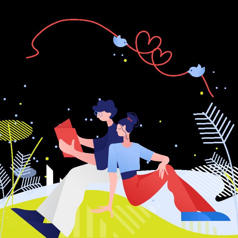 Summer rest Clipart illustration in PNG, SVG