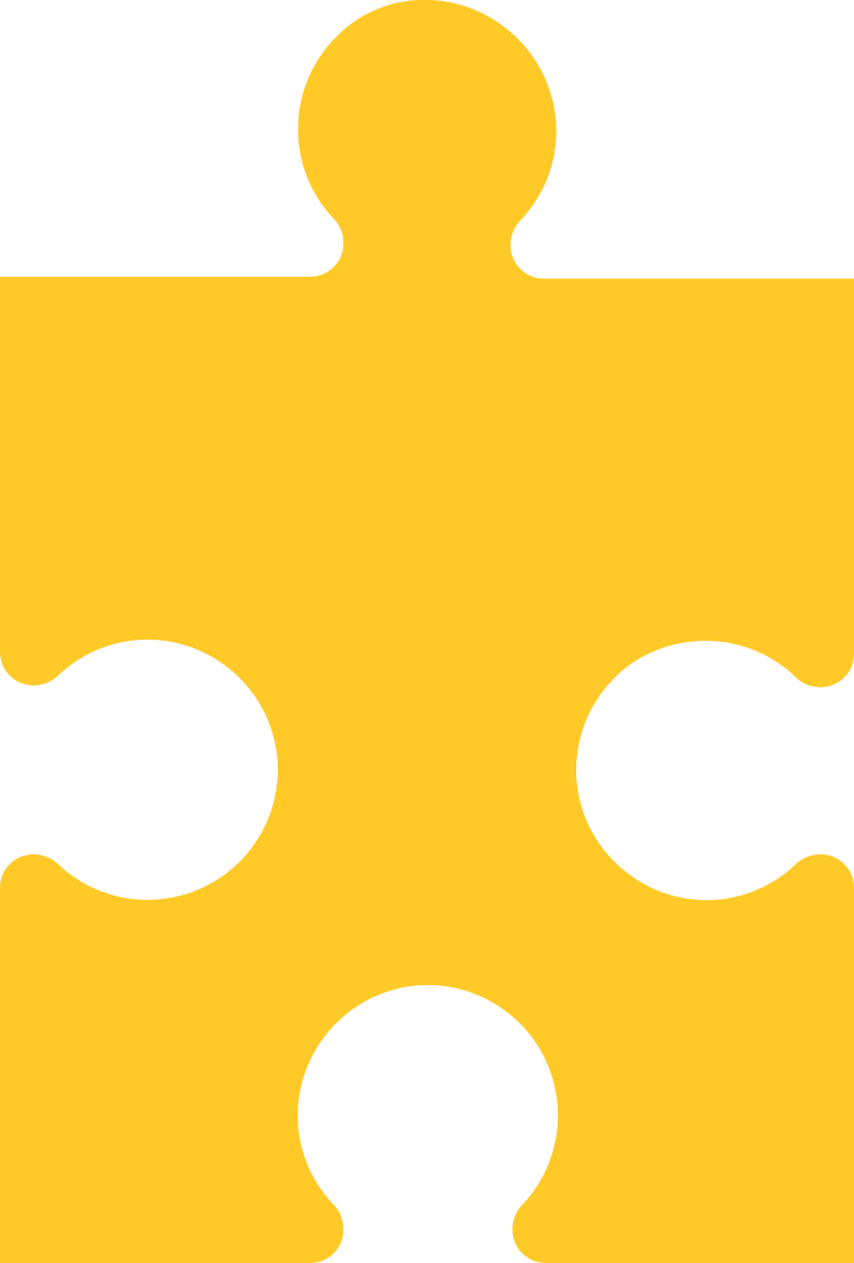 puzzle piese yellow Clipart illustration in PNG, SVG