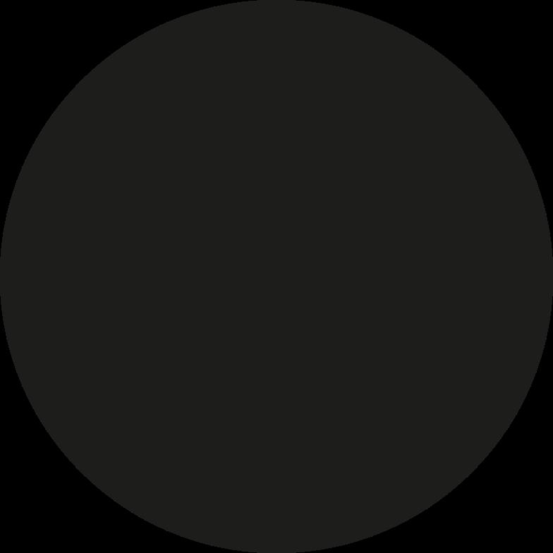 black circle Clipart illustration in PNG, SVG
