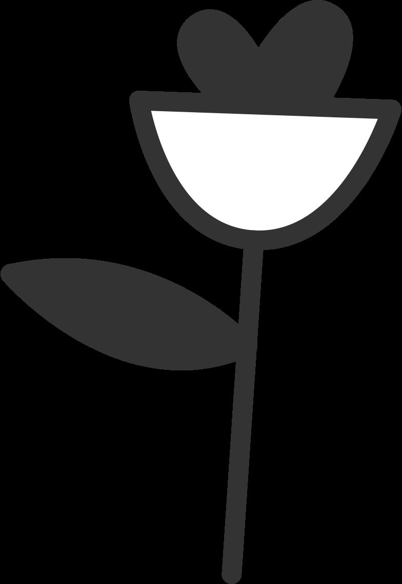 delete confirmation 2  flower Clipart illustration in PNG, SVG
