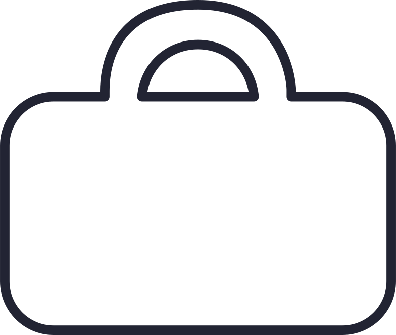 sign out  brief case Clipart illustration in PNG, SVG