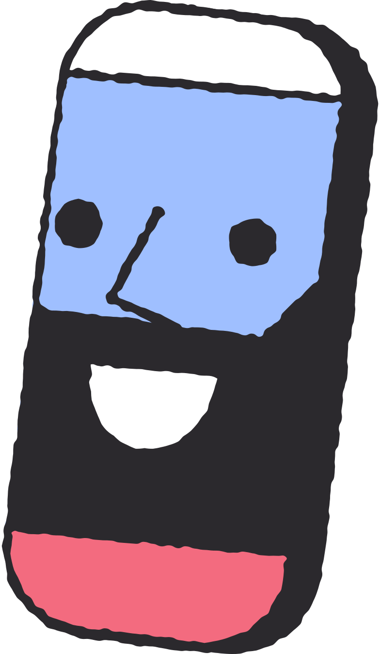 smartphone-with-face Clipart illustration in PNG, SVG