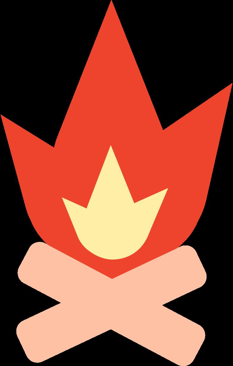 bonfire Clipart illustration in PNG, SVG