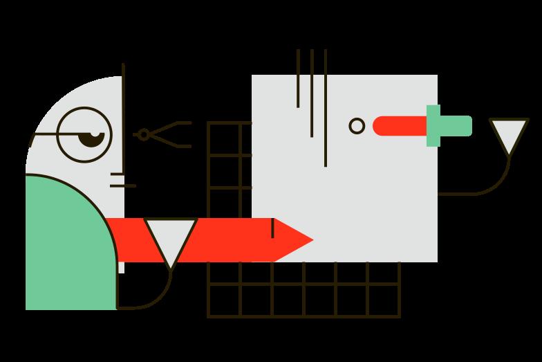 Graphic design Clipart illustration in PNG, SVG