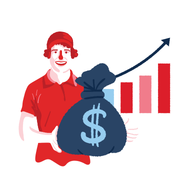 style Growth chart images in PNG and SVG | Icons8 Illustrations