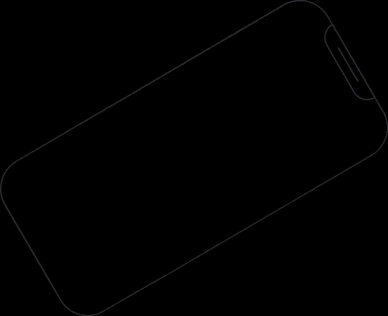 phone frame Clipart illustration in PNG, SVG
