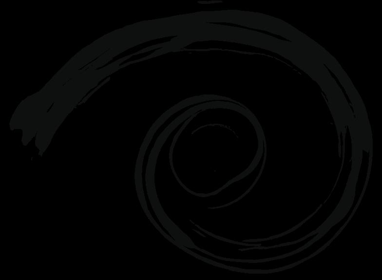 tk black snail Clipart illustration in PNG, SVG