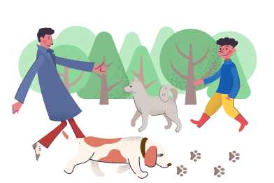 style Dog park images in PNG and SVG | Icons8 Illustrations