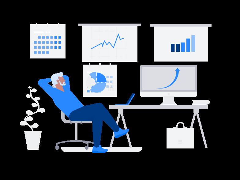 Клипарт Бизнес растет в PNG и SVG