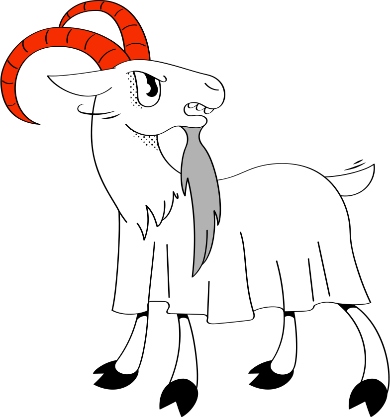 mountain goat Clipart illustration in PNG, SVG