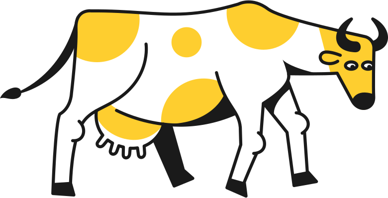 downloading  cow Clipart illustration in PNG, SVG