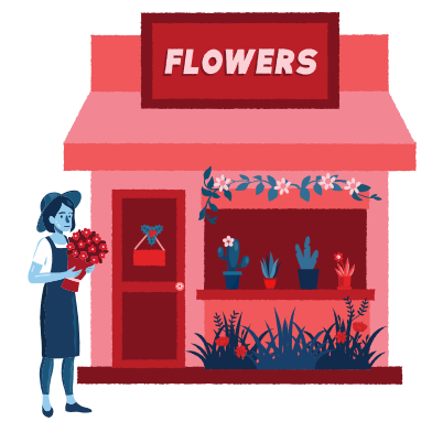 style Flowers shop images in PNG and SVG   Icons8 Illustrations