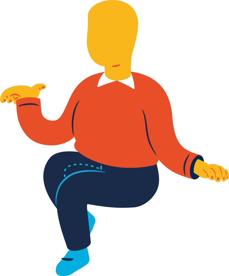 Imágenes vectoriales chubby man sitting en PNG y SVG estilo  | Ilustraciones Icons8