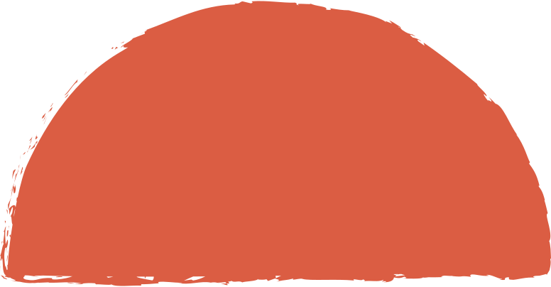 semicircle-red Clipart illustration in PNG, SVG