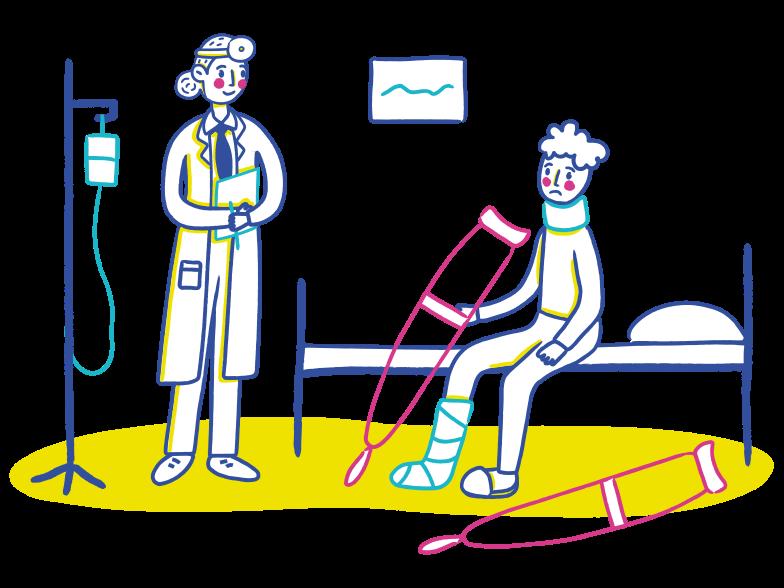 PNGとSVGの  スタイルの 医師による治療 ベクターイメージ | Icons8 イラスト