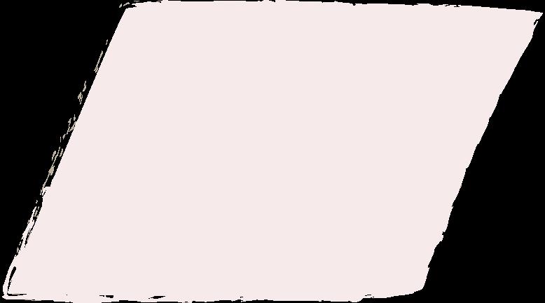 parallelogram-light-pink Clipart illustration in PNG, SVG
