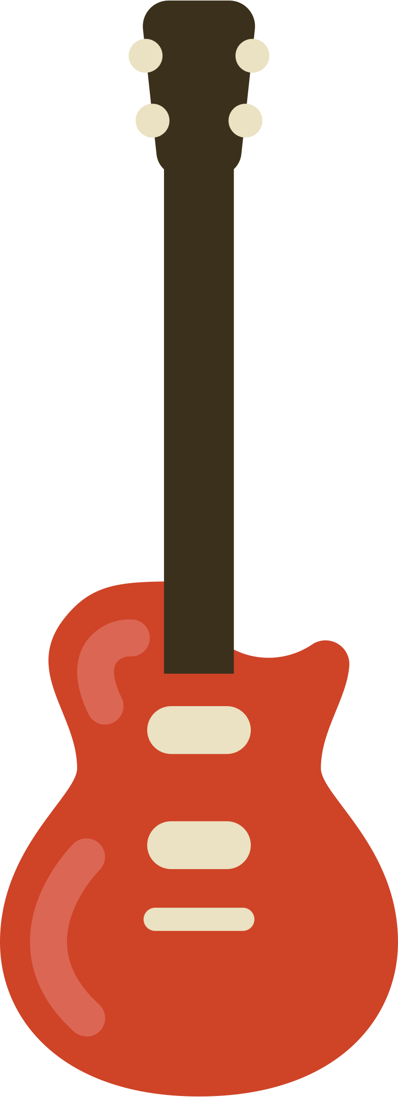 guitar electric Clipart illustration in PNG, SVG