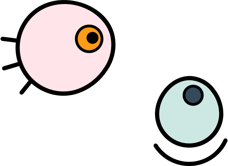 scientist eyes Clipart illustration in PNG, SVG