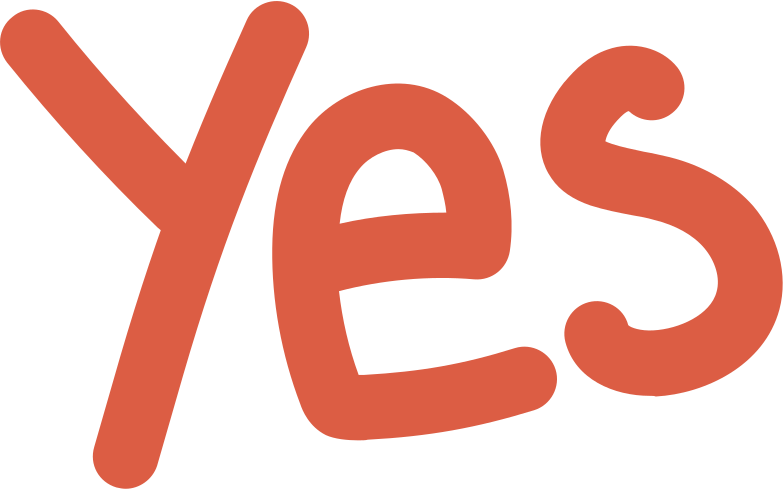 yes Clipart illustration in PNG, SVG