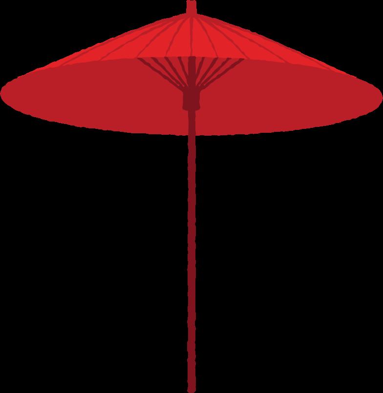 sun umbrella Clipart illustration in PNG, SVG