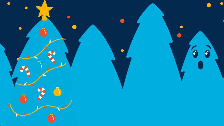 PNGとSVGの  スタイルの 木々はクリスマスの準備をしています ベクターイメージ | Icons8 イラスト