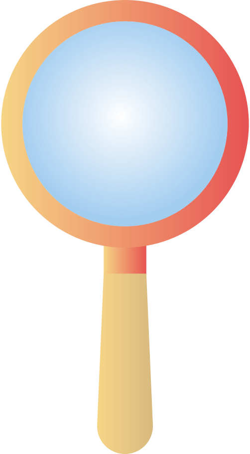 magnifying-glass Clipart illustration in PNG, SVG