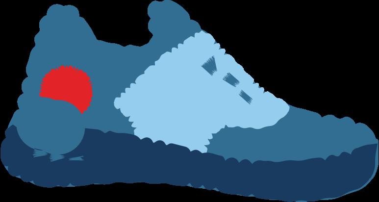 sneaker Clipart illustration in PNG, SVG