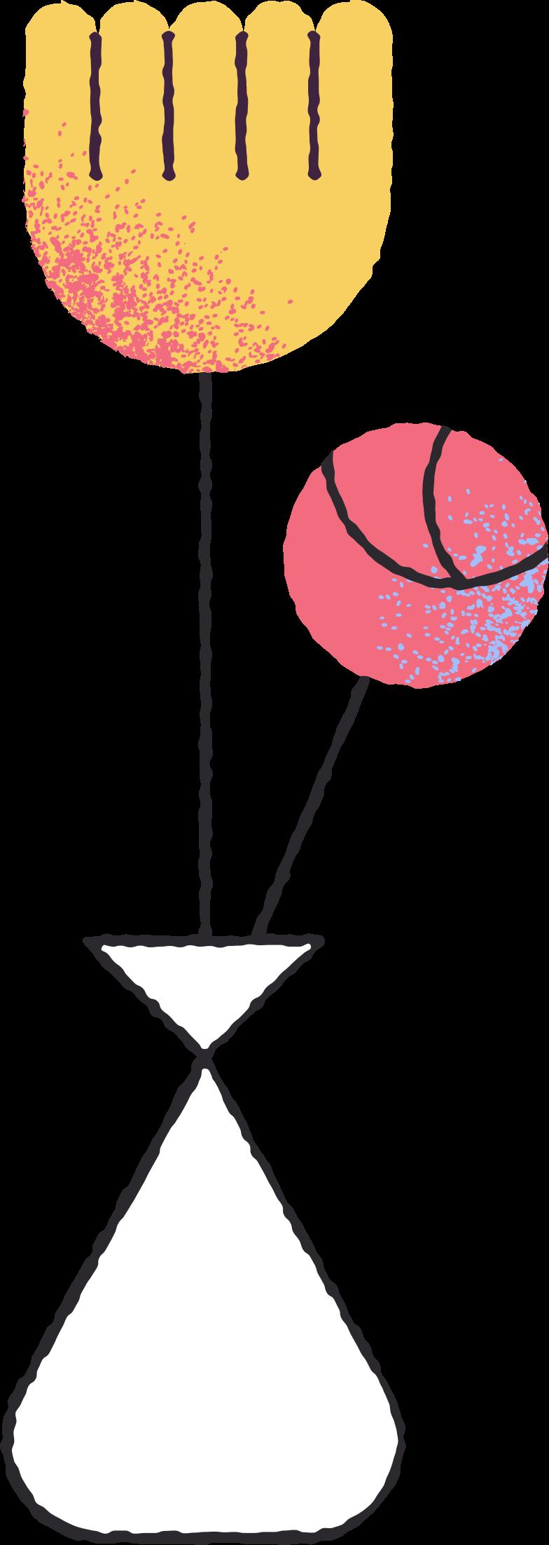 Ilustración de clipart de flowers in vase en PNG, SVG