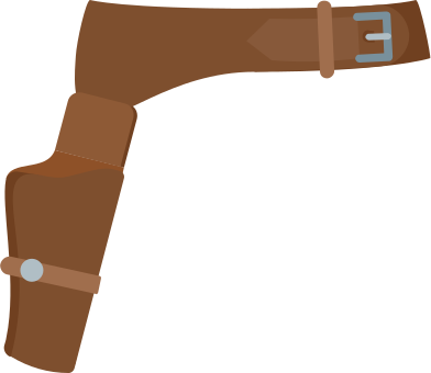 style revolver holster images in PNG and SVG | Icons8 Illustrations