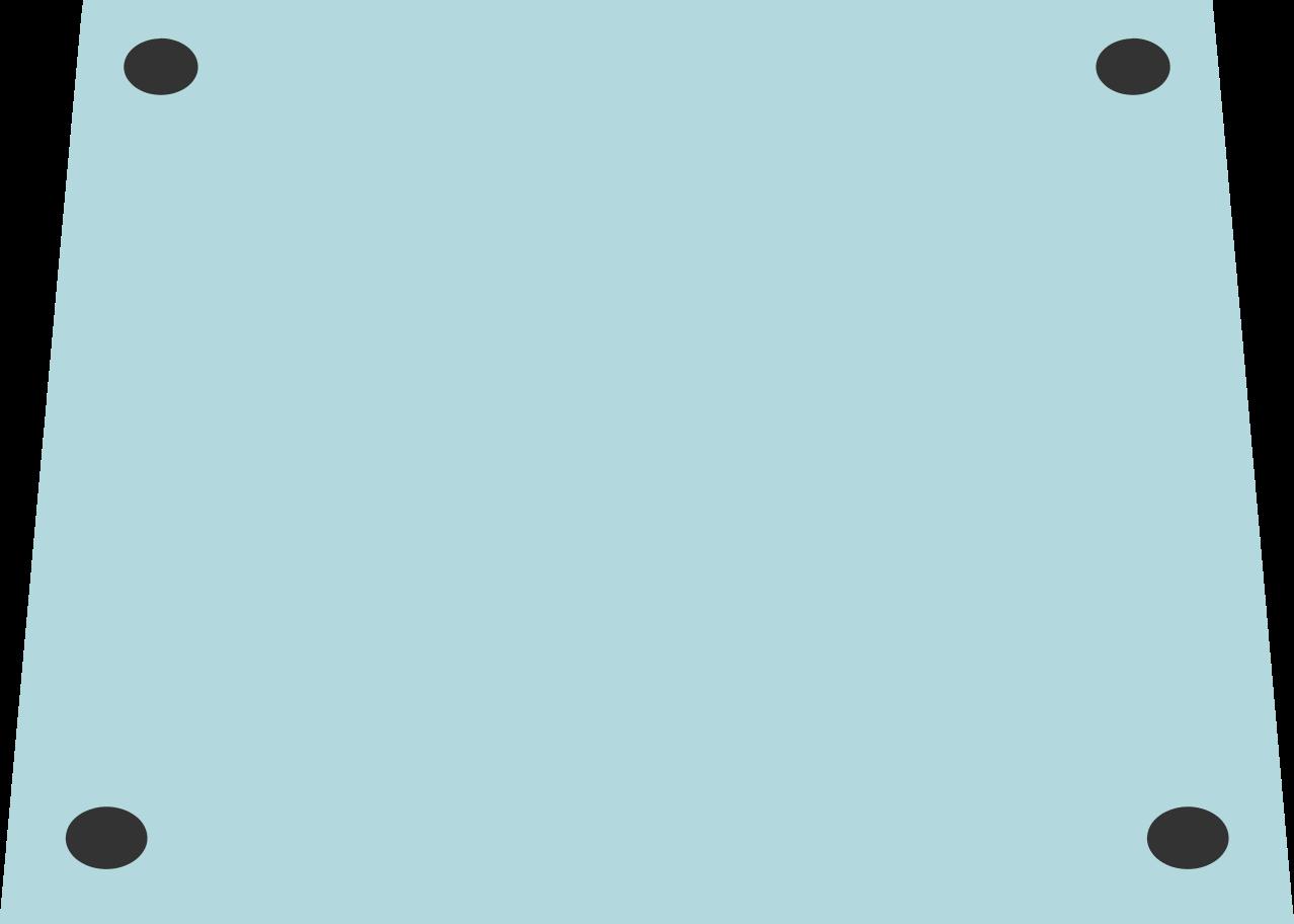 metal plate Clipart illustration in PNG, SVG